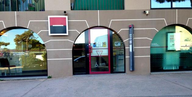 L'agence de la société générale de Calvi