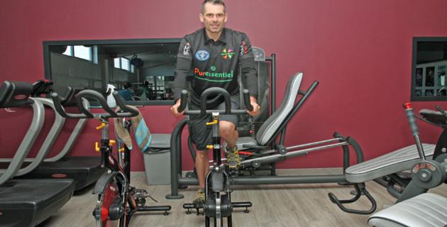 C'est sur ce type de machine que Christophe Santini tentera de battre un record mondial (photo Stéphane Gamant)