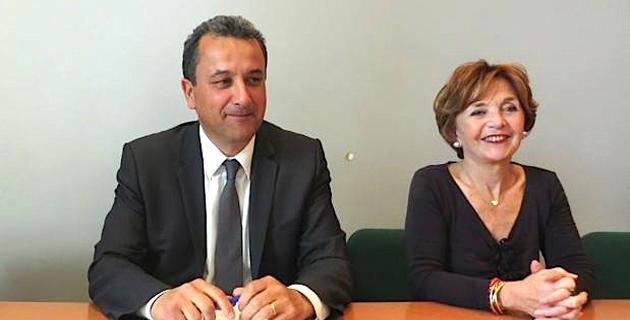 Pascaline Castellani (à droite) succède à François Tatti