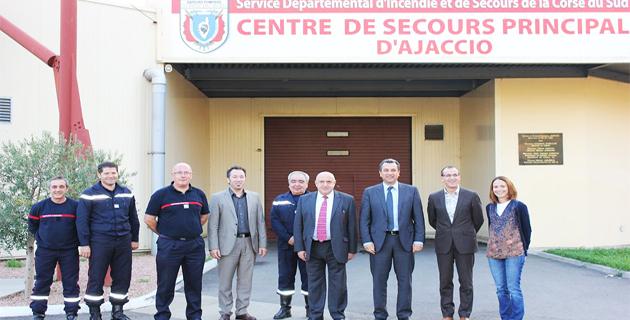 Gestion des risques : Les actions communes Syvadec-Sdis de Corse-du-Sud