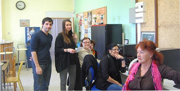 De nombreux P@M de Corse - ici celui de Corte - contribuent au développement de GrippeNet.fr en Corse en faisant participer leurs membres à la surveillance de la grippe  sur l'Île. © GrippeNet.fr