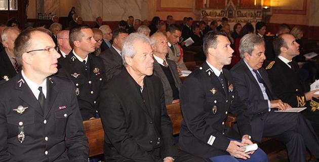 Les gendarmes de la Compagnie de Calvi ont fêté Saint-Geneviève