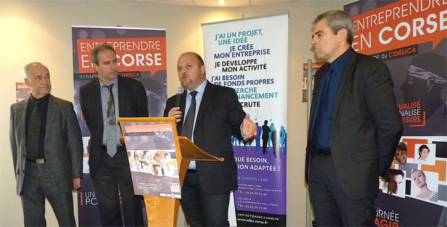 Création d'entreprise simplifiée : La Corse région-test