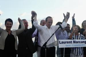 Laurent Marcangeli, député et conseiller général d'Ajaccio, candidat à l'élection municipale.