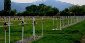 Le cimetière français de Bitola (ex Monastir) (Dr)