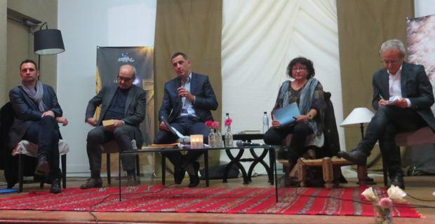 Denis Tailledec, Michel Marcus, Gilles Simeoni, Véronique Nahoum-Grappe et Franco Corradini.