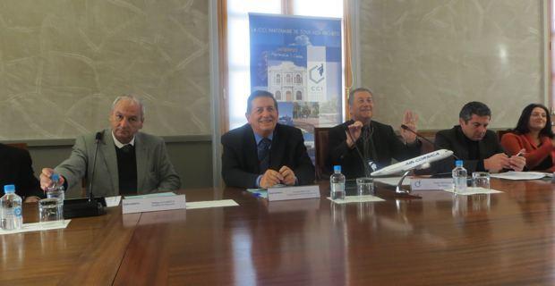 Philippe Dandrieux, François Mosconi, Paul Trojani, Philippe Albertini et Vanina Pieri.