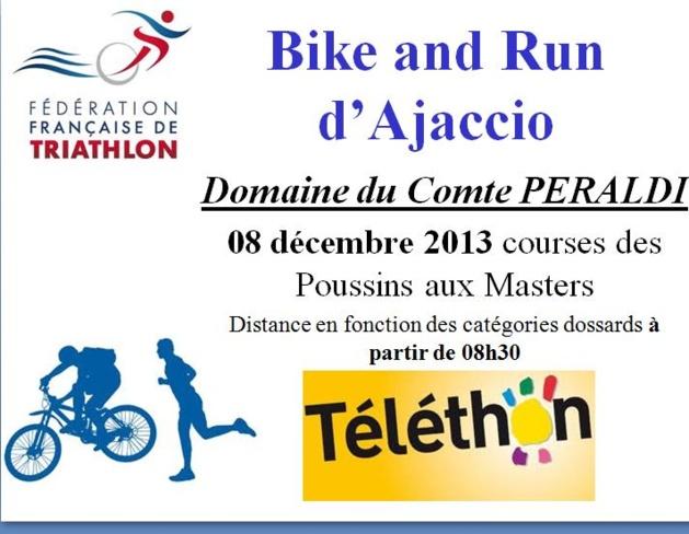 Bike and Run le 8 décembre pour le Téléthon