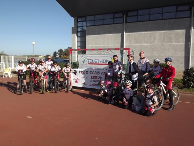 Les cyclistes au rendez vous (Photo SG)