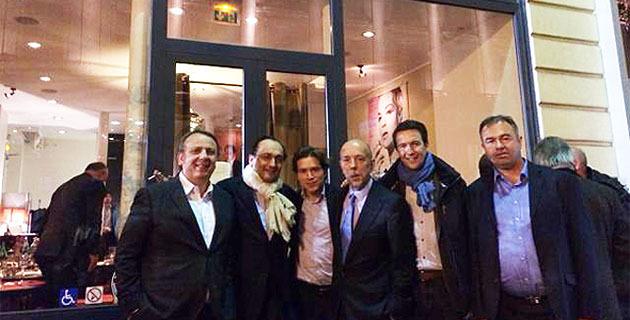 Quand le club U Cintu convie à Paris