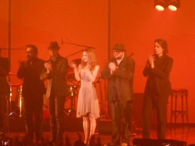 Vanessa Paradis et ses musiciens