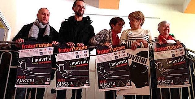 Fraternatale le 18 décembre au Palatinu : I Muvrini ouvrent le bal de la solidarité