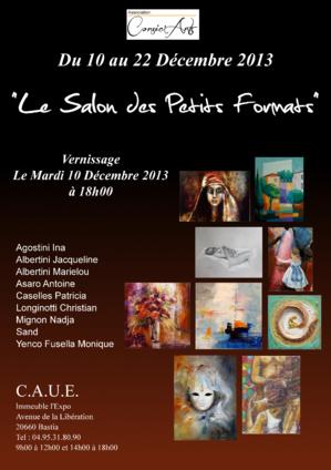 Salon des Petits Formats à Bastia