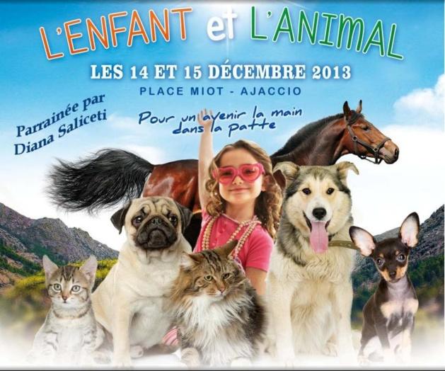 """Ajaccio : 1ère édition de la """"Fête de l'Enfant et l'Animal"""" place Miot"""