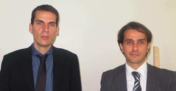 Jean-François Leoni, Directeur de la DISS et de la MDPH  et Georges Baldrichi, responsable des unités territoriales des ISS.