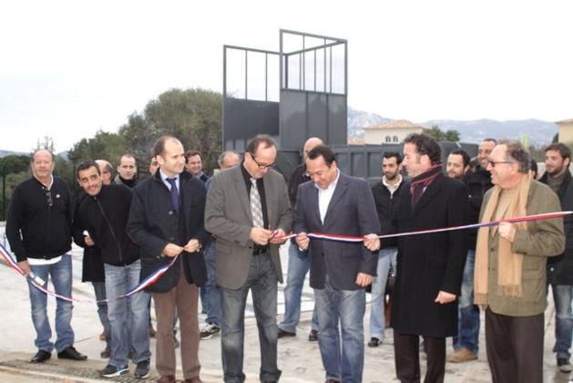 Le premier centre de regroupement du tri en Corse inauguré à Calvi