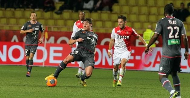 A Monaco, Medhi Mostefa a montré l'exemple niveau engagement. Le chemin à suivre pour battre Lorient (Ritrattu : G Pierlovisi AC-Ajaccio.com)