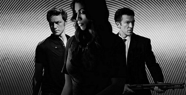 Le trio Rosario Dawson, James McAvoy et Vincent Cassel dans un thriller haletant, entre rêve et réalité. (DR)