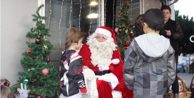 Le Père Noël au Grand-Large de Calvi