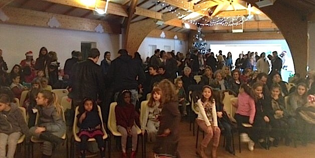 Un public nombreux pour le spectacle de magie de David René