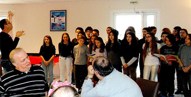 Bastia : Après-midi intergénérationnelle pour des élèves du Lycée Vinciguerra