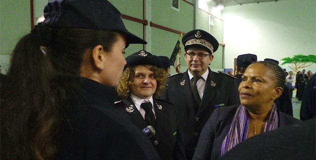 """Christiane Taubira :"""" La moitié des détenus corses ne veulent pas être transférés"""""""