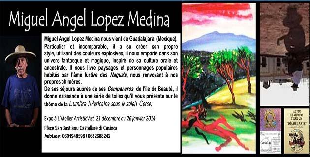 """""""La Lumière mexicaine sous le soleil Corse"""" à Castellare-di-Casinca"""