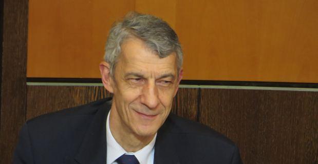 Michel Castellani, élu territorial de Femu a Corsica, conseiller municipal d'Inseme per Bastia, professeur d'économie et responsable pédagogique du Master 2 administration des entreprises à Corte.