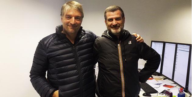 Sébastien Simoni (à gauche) et Jerôme Pietri