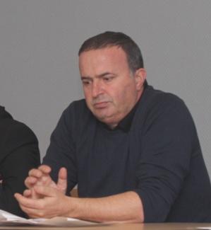 Don Marc Albertini maire de Ghisoni (Photo SG)