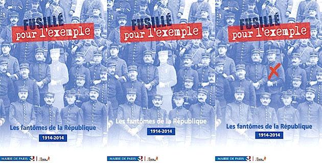 """""""Fusillés pour l'exemple"""" : Le collectif corse à l'hôtel de ville de Paris"""