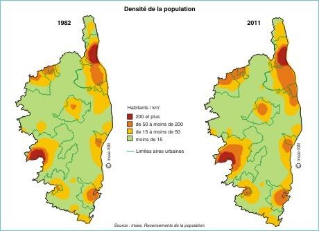 Démographie : 2 500 habitants de plus par an en Corse depuis 1982
