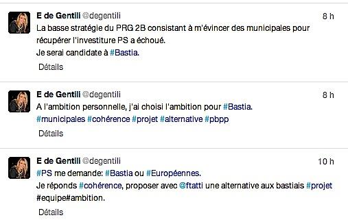 Elections européennes : Emmanuelle de Gentili renonce !