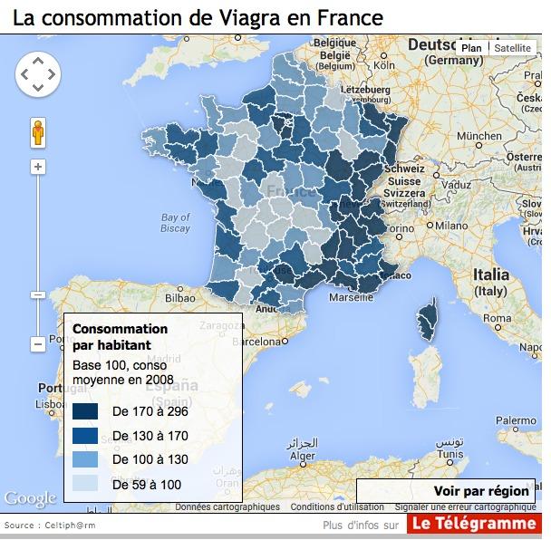 Viagra : Les Corses, les plus gros consommateurs…
