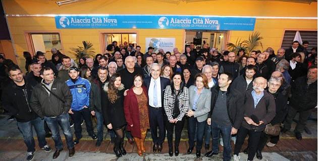 Inauguration de la permanence Aiacciu Cità Nova