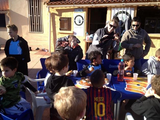 Les Rois au Football Club de Calvi
