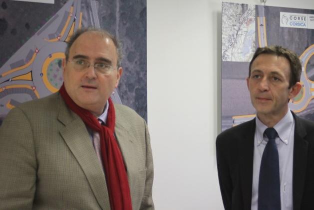 Paul Giacobbi et Alexandre Sarrola