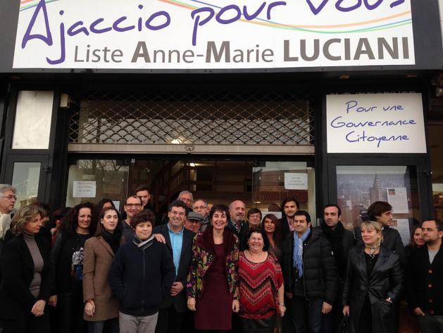 Anne-Marie Luciani a inauguré sa permanence « Ajaccio pour vous »