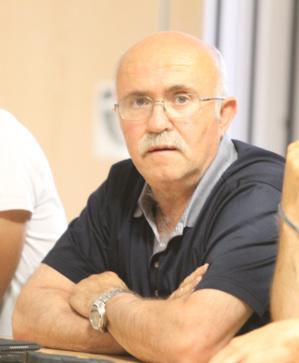 L'interview de Francis Giudici. (Photo Stéphane Gamant)