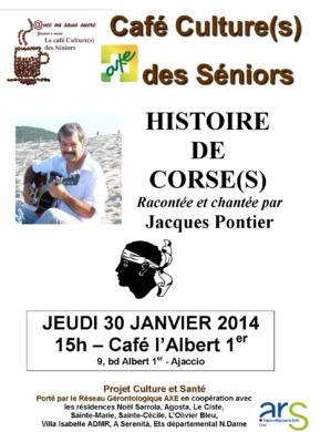 """Ajaccio : Le """"Café culture"""" s'expérimente au café l'Albert 1°"""