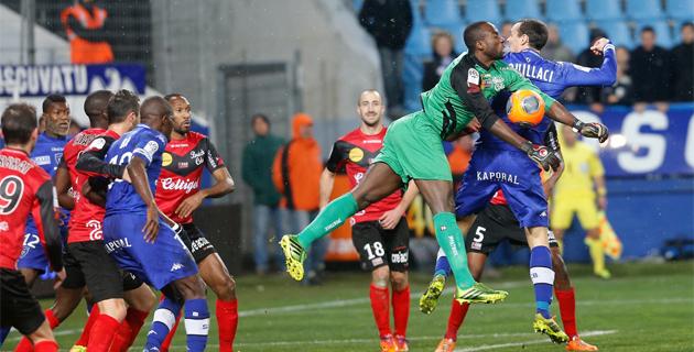Le Sporting double Guingamp sur le fil (3-2)