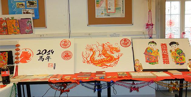 Bastia : La célébration du Nouvel an chinois au collège Simon-Vinciguerra