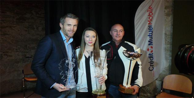 Bruno Langlois, Alexandra Feracci, Mikaël Landreau : Le podium de l'USJSF de Corse