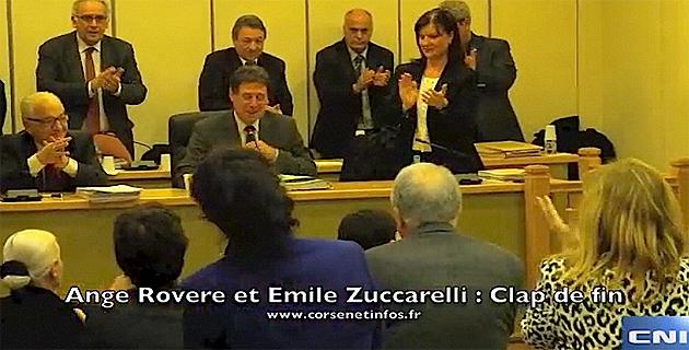 Conseil municipal de Bastia : Clap de fin pour Ange Rovere et Emile Zuccarelli