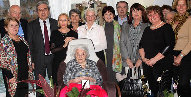 Calvi a fêté sa centenaire Michelle Morucci