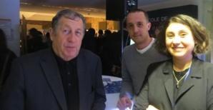 Paul Trojani, président de la CCI2B entouré d'animateurs des Nuits de l'Orientation.