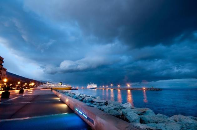 L'image du jour : Le bleu de Bastia