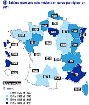 Salaires dans les collectivités territoriales : La Corse après l'Alsace, l'Ile-de-France et la Provence-Côte d'Azur…