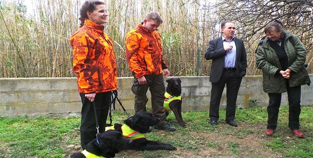 Première nationale : Des chiens engagés dans la lutte contre le capricorne asiatique à Furiani