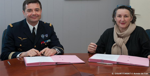 Une convention entre la Base aérienne 126 et la cité scolaire du Fium'Orbu
